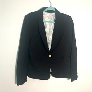 Theory Women Jackets Blazers Size M Black Color